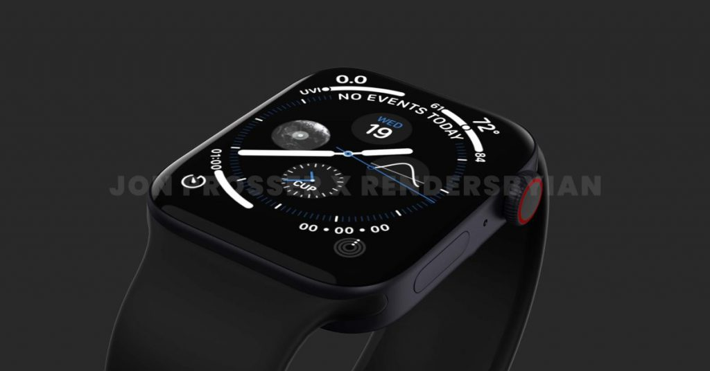 Leaker confirms Apple Watch Series 7 is available in 45mm size