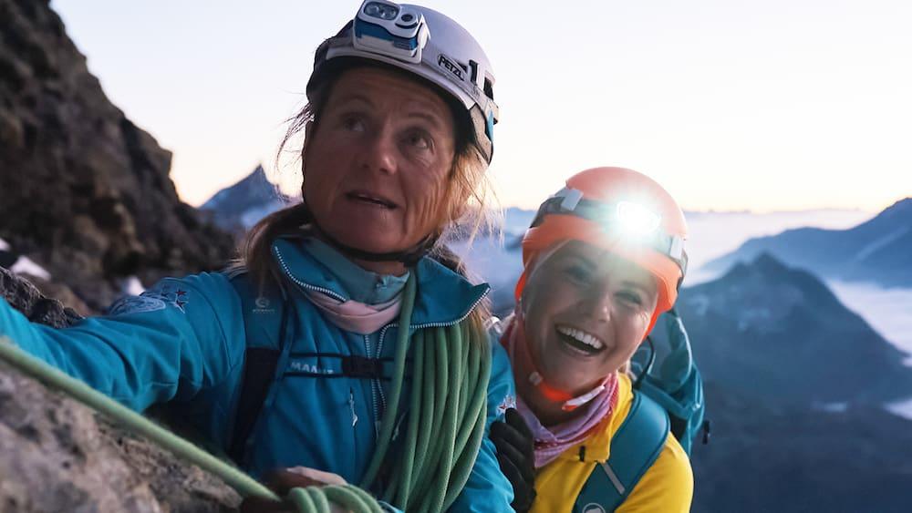 Matterhorn guide Susan Hauser talks about Beatrice Egli's talent