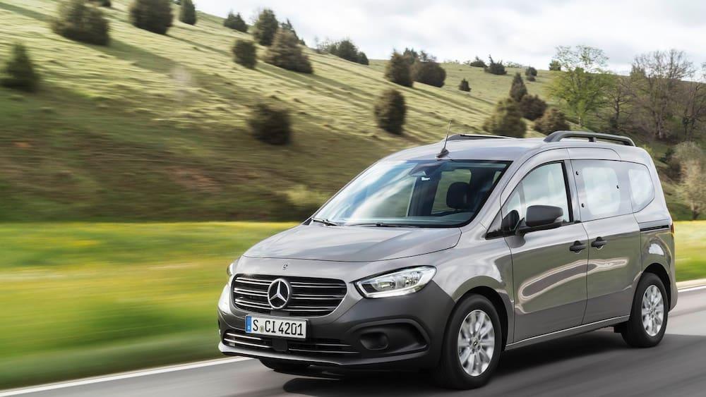 Mercedes re-launches the Citan van