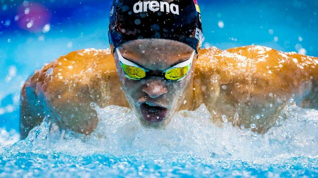 Paralympic debut: Talisso Engel finished sixth in the 400m freestyle