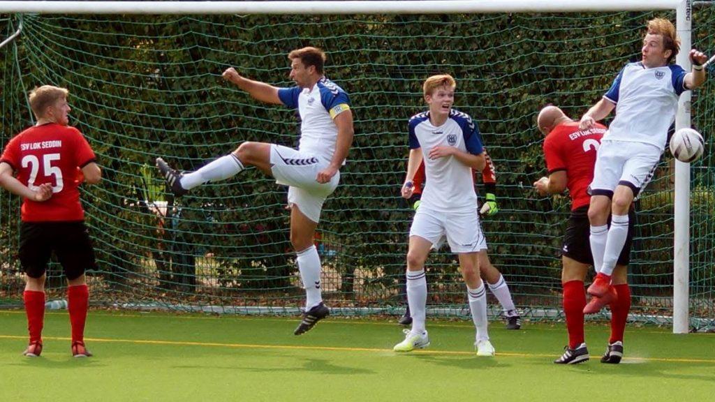 Die Kicker des SV Babelsberg 03 II kamen gegen den ESV Lok Seddin nicht über ein 1:1 hinaus.