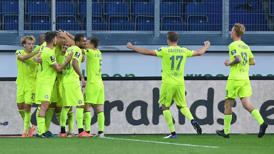 SV Wehen Wiesbaden new frontrunner after 50m goal |  hessenschau.de