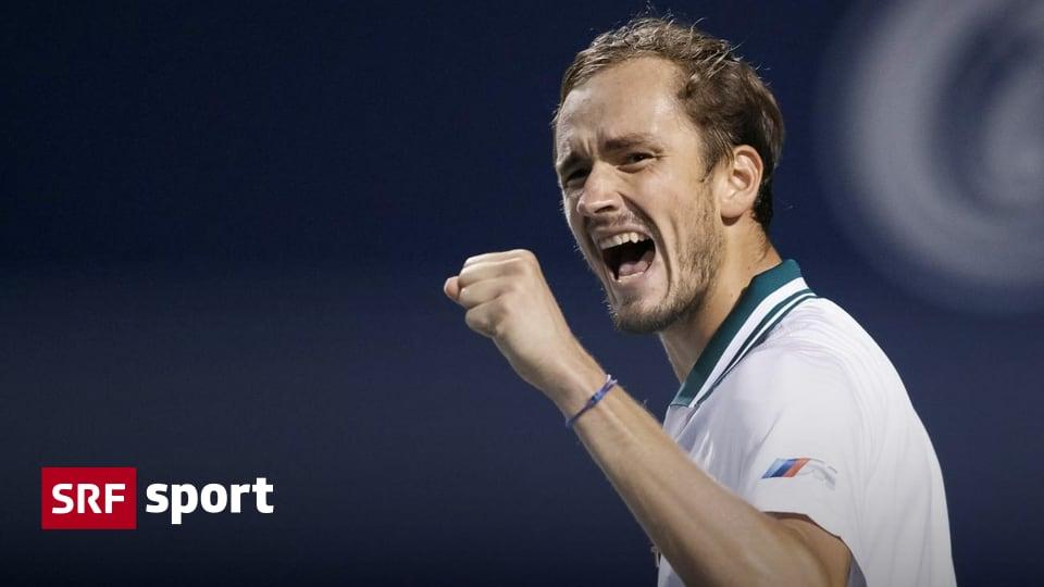 Tennis news - Medvedev follows Tsitsipas in the semi-finals