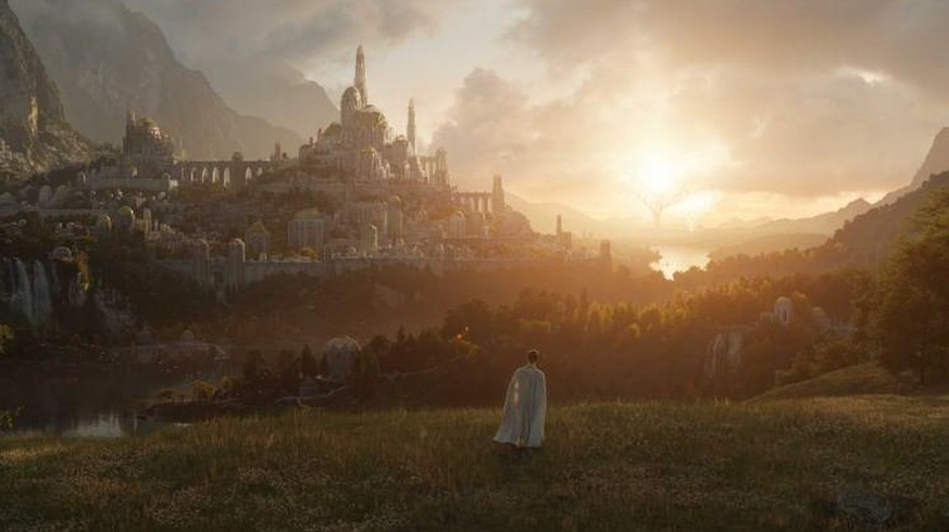 The TV series 'Lord of the Rings' won't air until 2022