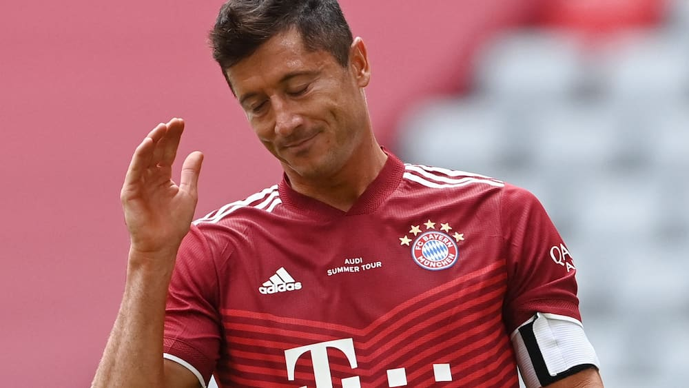 This is the reason why Lewandowski is upset with Bayern Munich