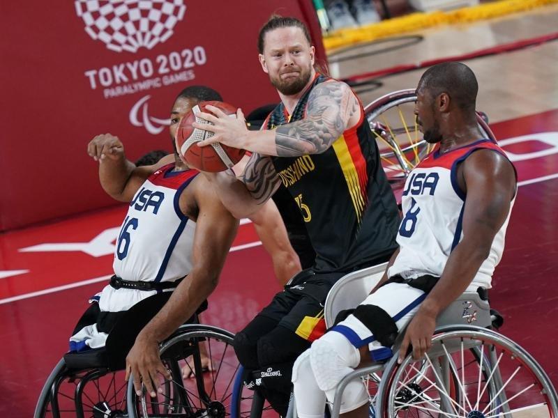 Wheelchair basketball: German men lose against USA    free press