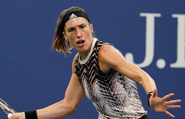Petkovic was eliminated from the US Open by Muguruza