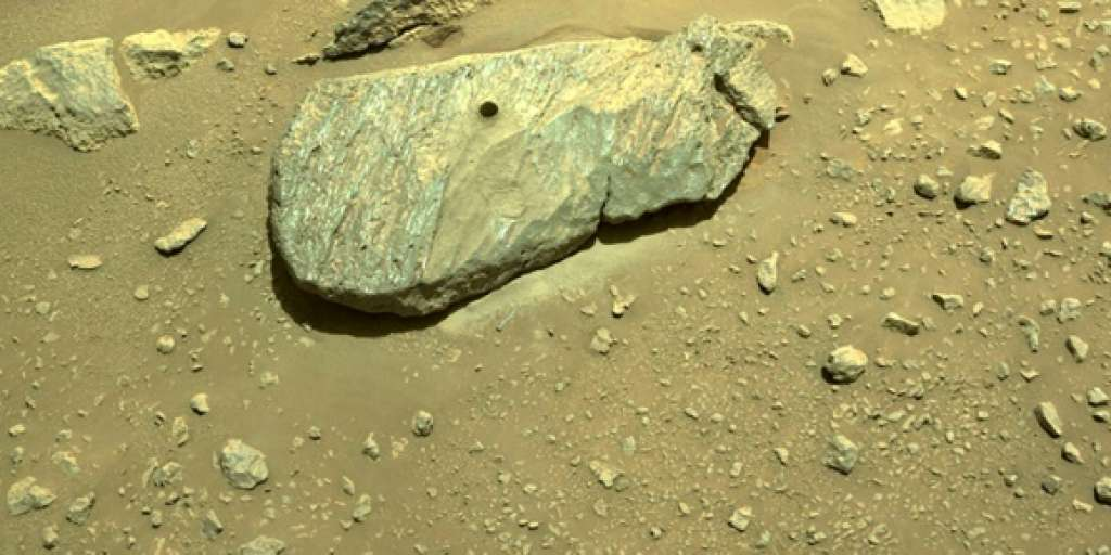 NASA suspects successful sampling of Mars mission on second attempt