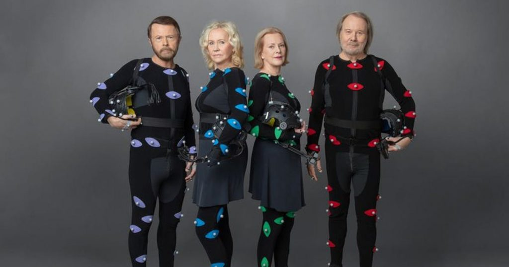 This is what ABBA's new music looks like