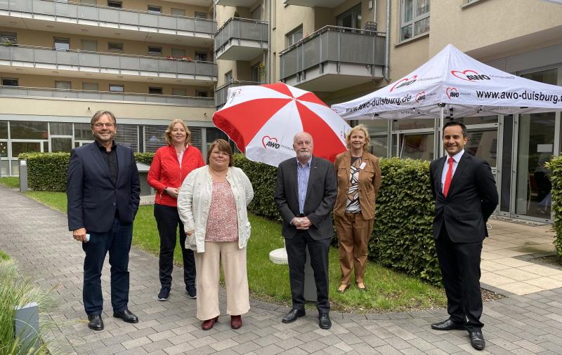AWO President looks forward to Marie Gotchaks-Platz in Duisburg