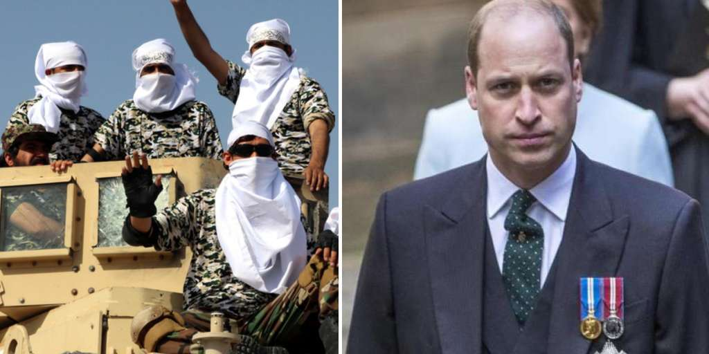 Prince William saved friends from Kabul at the last second