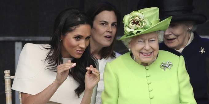 Meghan Markle, Queen Elizabeth II.