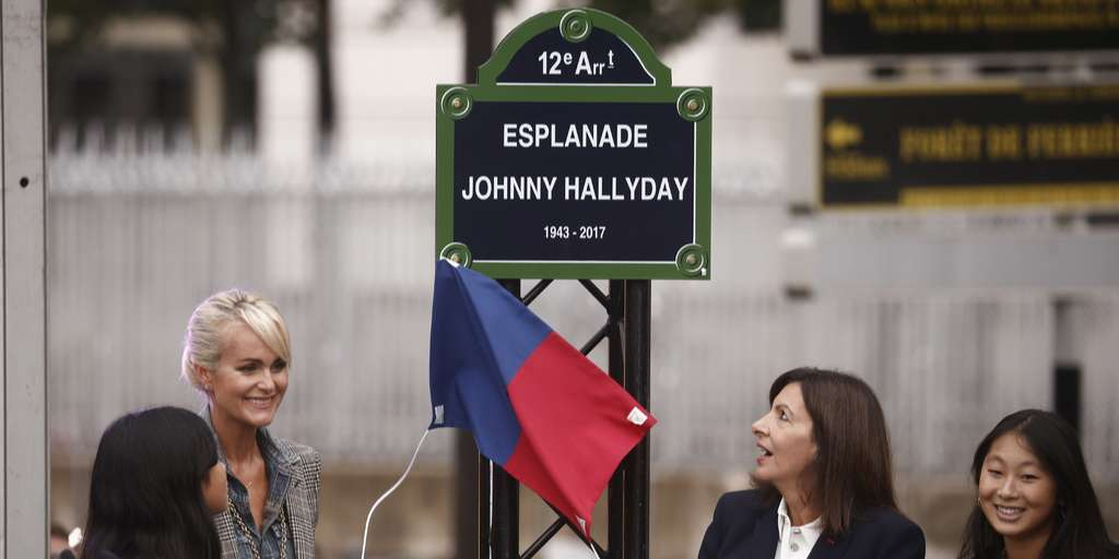 The rock icon gets a place and a statue in Paris