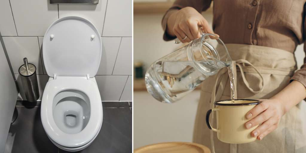 The maid gives the employers toilet water to drink - they should be detained