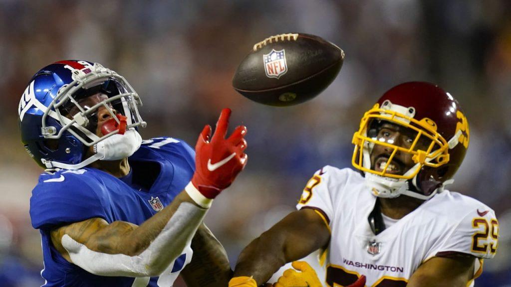 30:29 vs New York Giants: Washington wins kicker contest!  - American sports