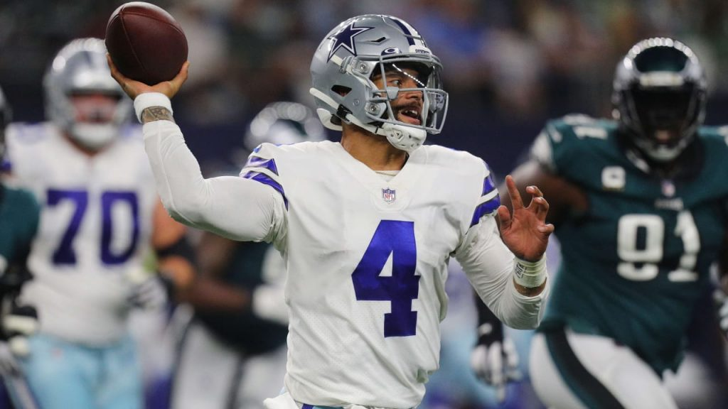 41:21 win at home in the NFL!  The Dallas Cowboys snatch the Eagles - American sports