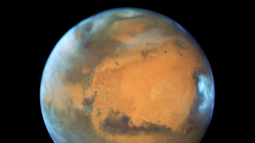 """A new study on Mars: """"Fate was decided from the beginning"""""""