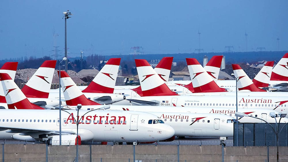 Austrian Airlines flies from Vienna to Vienna