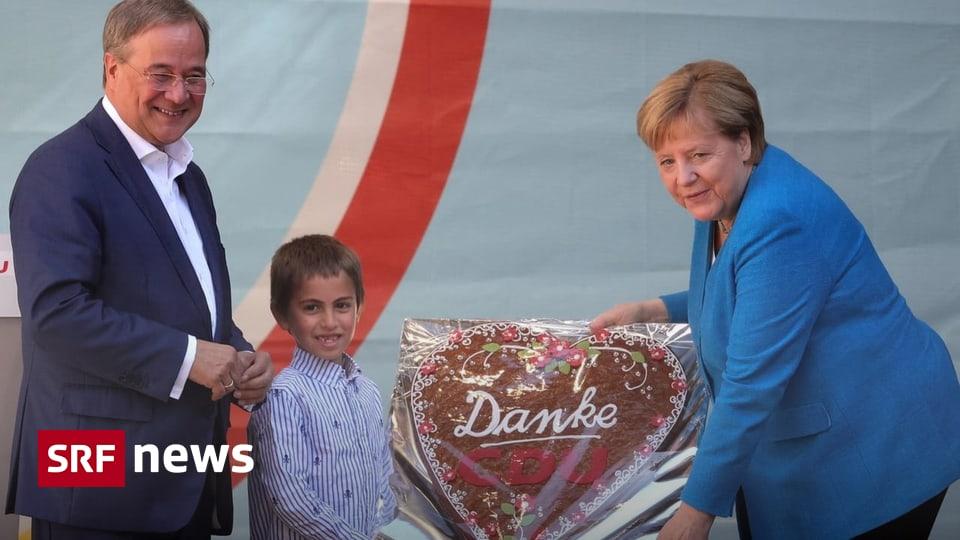 Before the day of the decision - Merkel announces Laschet - Schulz announces hesitant - News