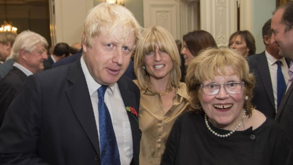 British Prime Minister Boris Johnson's mother dies