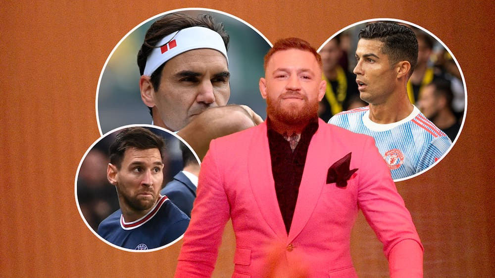 Conor McGregor - Richer than Federer, Messi and Ronaldo