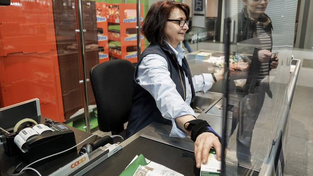 Coop allows customers to rate the friendliness of the sales staff