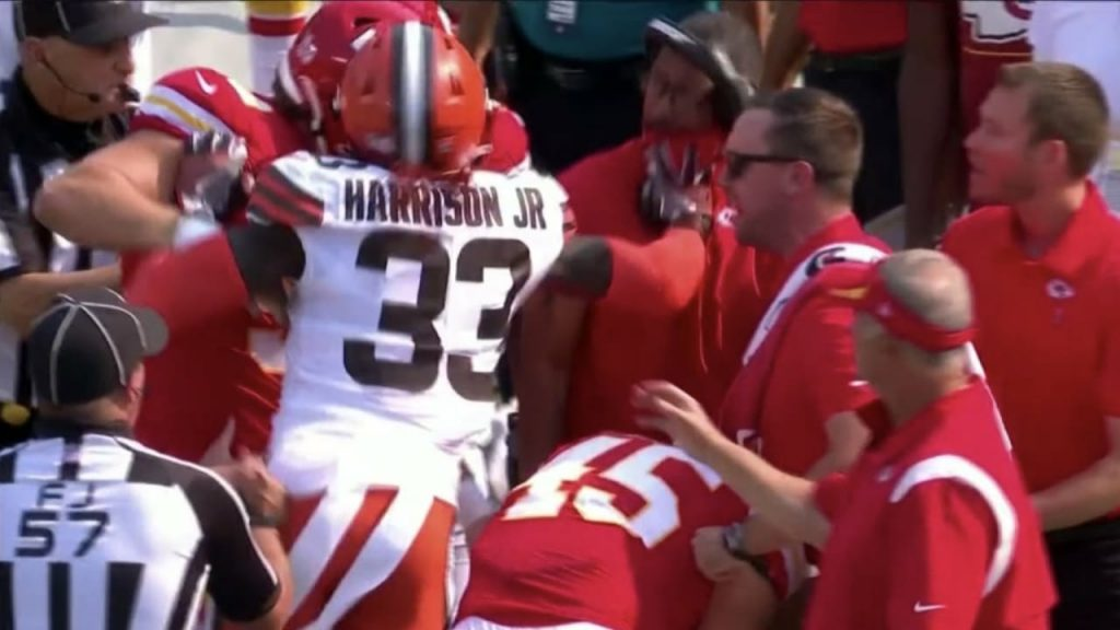 First day in the NFL game: Coach Rush!  Brown's star flies down - US SPORT