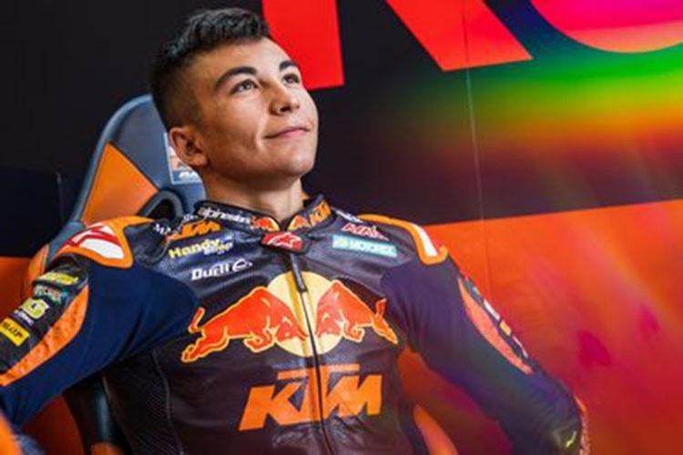 Der Moto2-WM-Zweite Raúl Fernandez steigt in die MotoGP-Klasse auf
