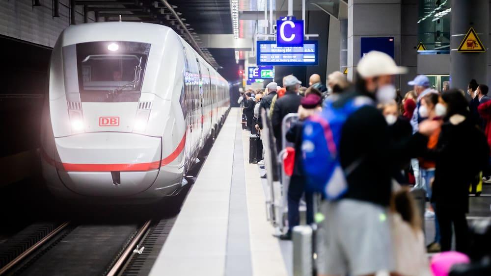 German train drivers' strike affects Switzerland