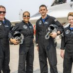 «Inspiration 4»: For the first time, four amateurs went solo into space