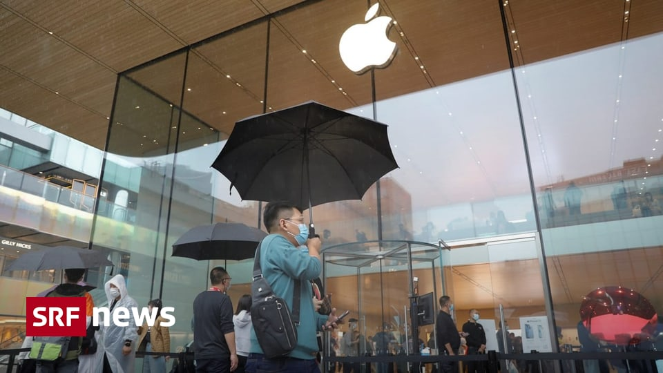 Lack of electricity due to climate policy - Apple suppliers in China stop production - News