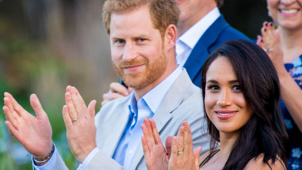 Meghan and Harry perform at the New York City Music Festival