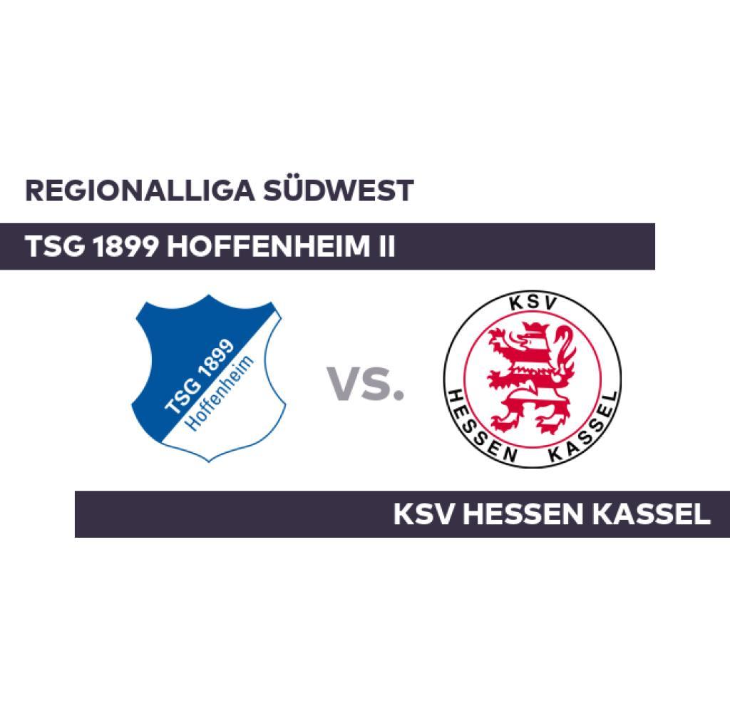 TSG 1899 Hoffenheim II - KSV Hessen Kassel: Hoffenheim moves up to eighth - Regionalliga Südwest