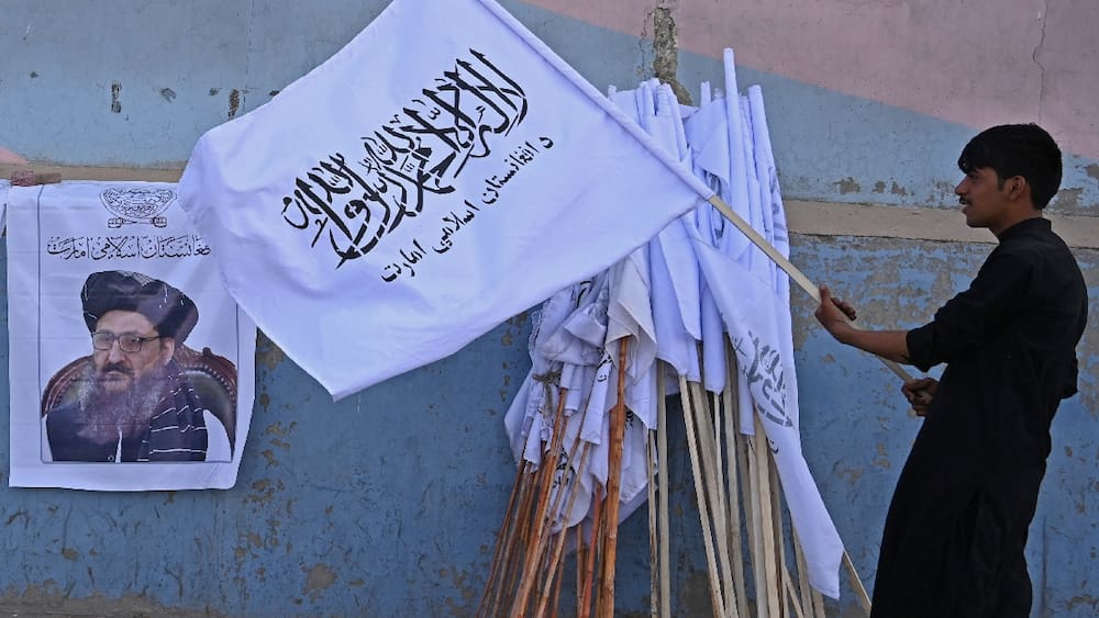 The Taliban displayed captured US military equipment in a military parade