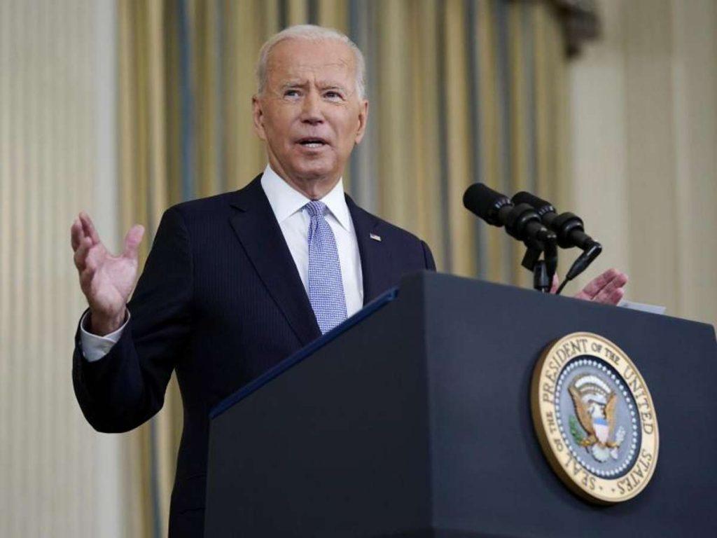 Die Verabschiedung der Investitionspakete von US-Präsident Joe Biden ist noch nicht gesichert. Foto: Patrick Semansky/AP/dpa Foto: dpa