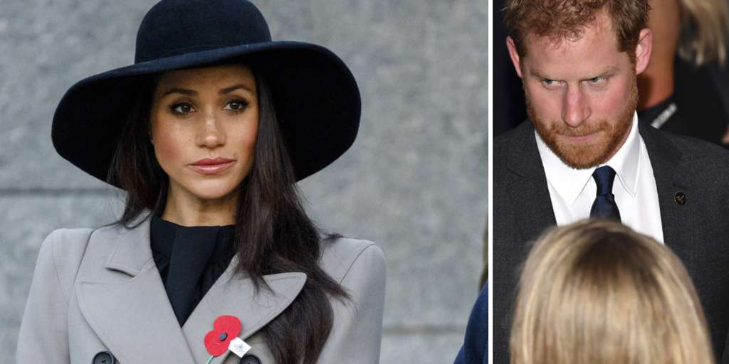 Prince Harry and Meghan Markle laughed when the microphones were working
