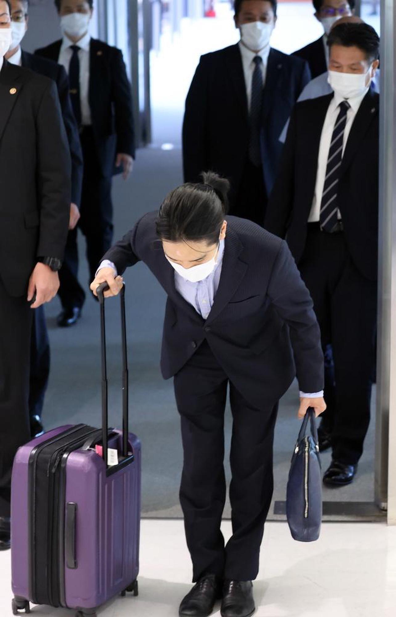 His comeback was aired live: Kei Komuro.