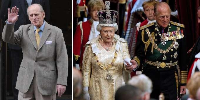 Queen Elizabeth Burns Philip