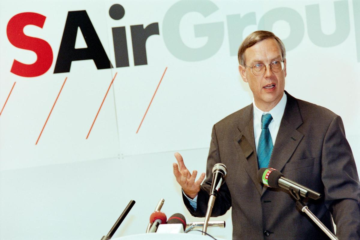 September 3, 1998: Philipp Progester comments on the crash of a Swissair plane.  Financial disaster is not a problem yet.