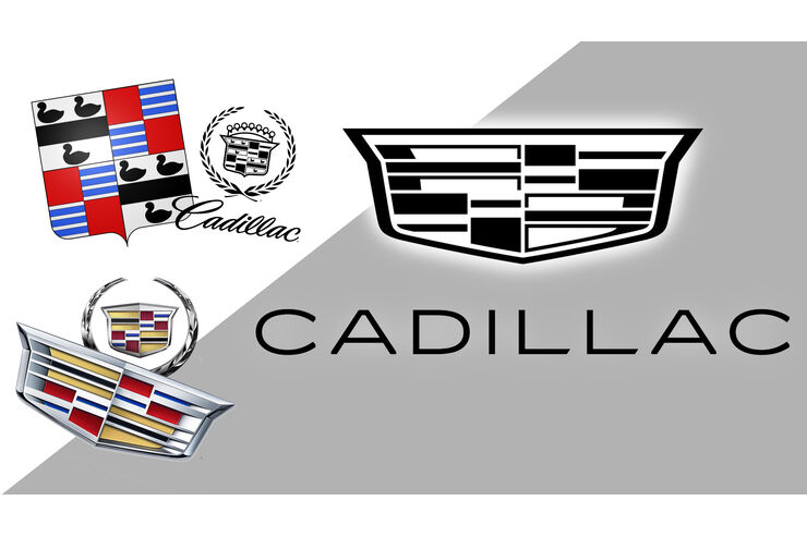Cadillac's redesign: the new logo loses all colors