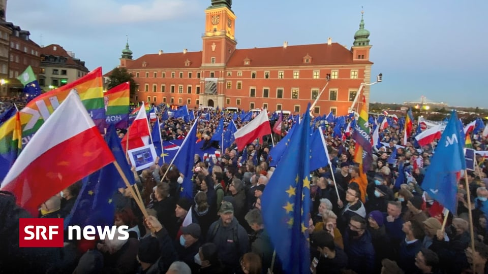 After Constitutional Court ruling - Poland: mass rallies nationwide to stay in the EU - News