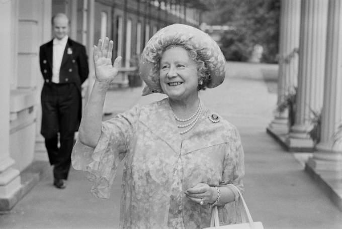 The Queen Mum Prinz Charles