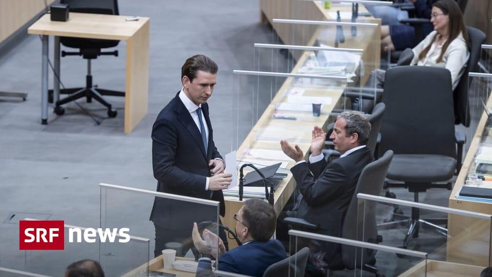 Former Austrian Chancellor - Sebastian Kurz sworn in as Deputy Vice Chancellor - News