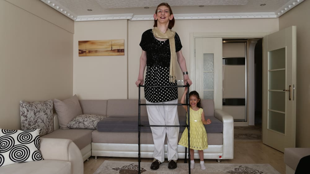 Guinness book names a Turkish woman the tallest woman in the world