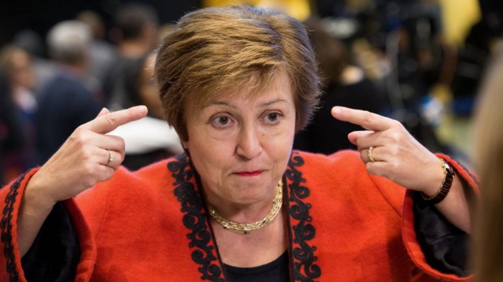 IMF chief, Kristalina Giorgio, divides the United States of America and Europe - the economy