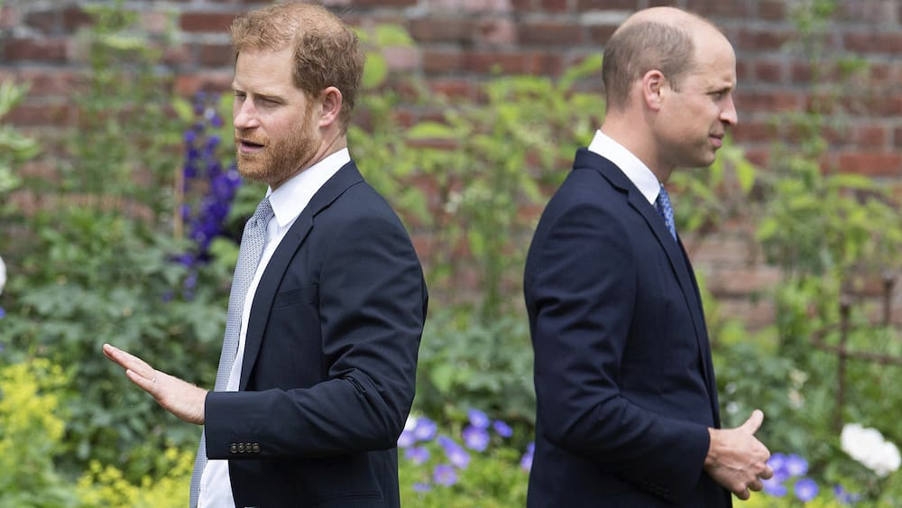 It is said that Prince William prevented Harry's daughter from being baptized in England