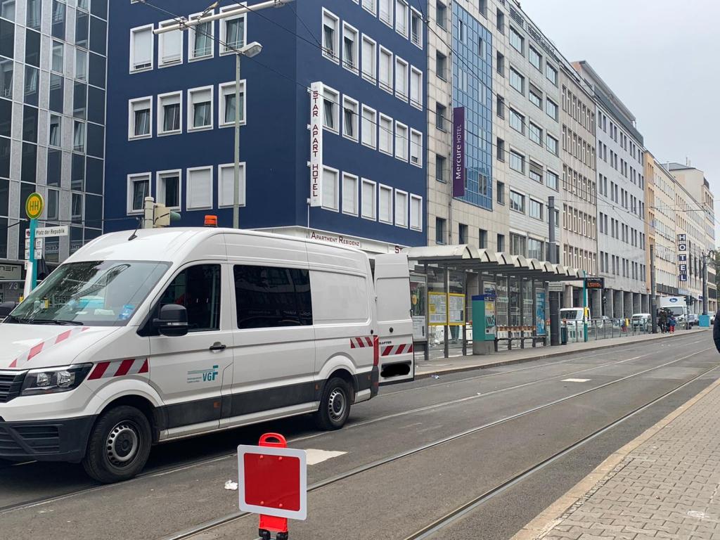 Journal Frankfurt Nachrichten - There is no tram between the main train station and Platz der Republik