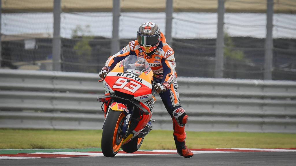 Marc Marquez is still the king of the US Grand Prix