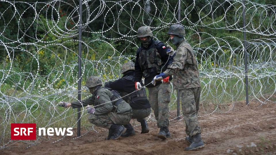 Protecting the EU's external borders - Twelve EU countries demand fences and barbed wire at the borders - News
