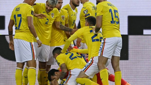Romania in the German Federation group in first place in the play-off match